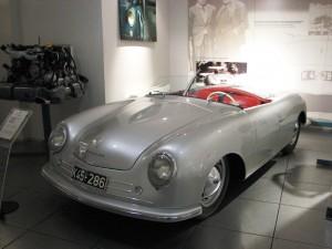 Porsche 356 Nr.1 Roadster 1948 at Porsche museum