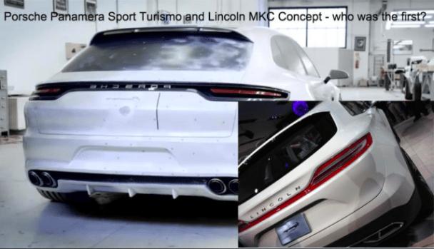 Porsche Panamera Sport Turismo and Lincoln MKC Concept