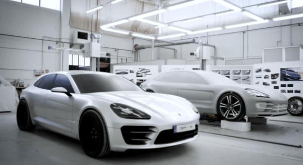 Porsche Panamera Sport Turismo_Porsche Concept