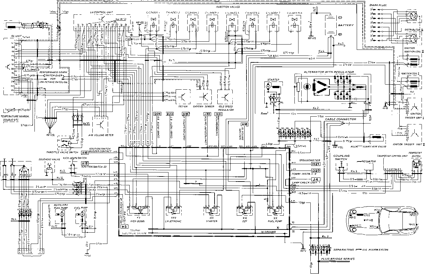 Wiring Diagram Type 928 S Model 85 Page