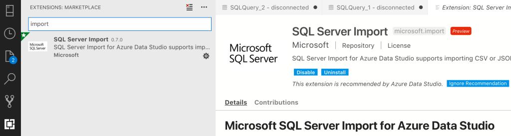 Importing Data With Azure Data Studio – Port 1433