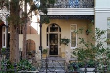 House with Wrought Iron, August 14, 2015