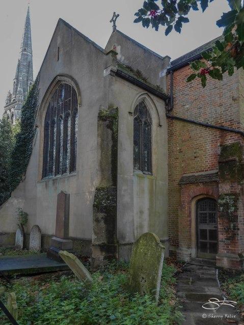 St Mary's Old Church, Stoke Newington 12/29/2015