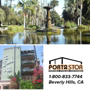 Rent Portable storage units in Beverly Hills, CA