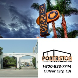 Rent portable storage units in Culver City, CA