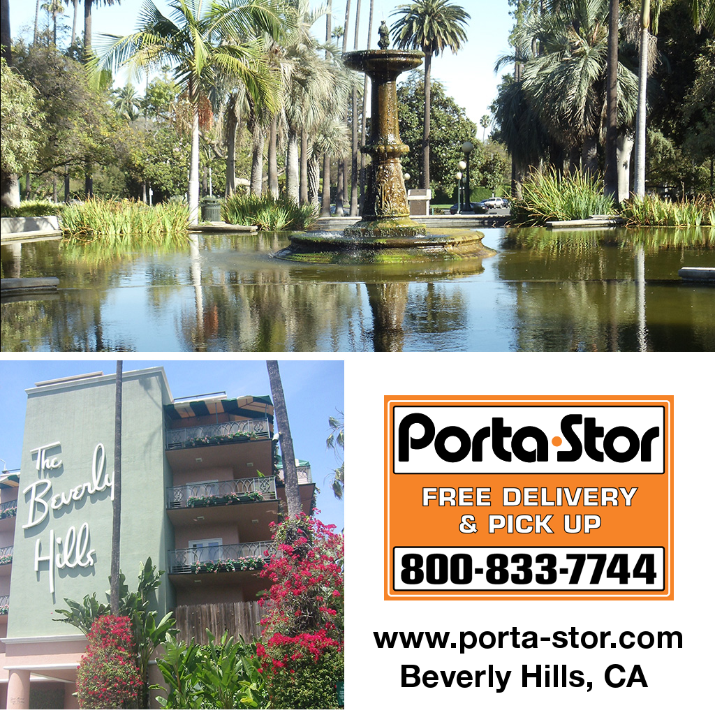 Porta-Stor Location Collage - Beverly Hills