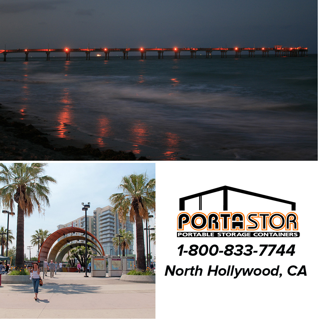 Rent portable storage containers in North Hollywood, CA