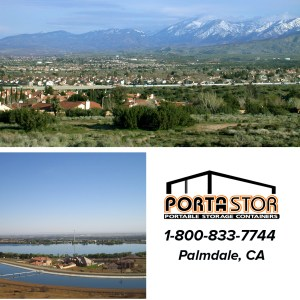 Rent portable storage containers in Palmdale, CA