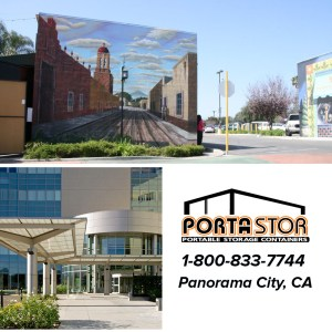 Rent portable storage containers in Panorama City, CA