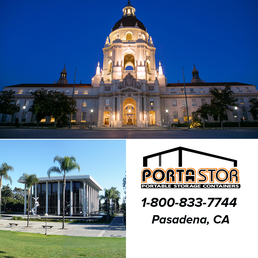 Rent portable storage containers in Pasadena, CA