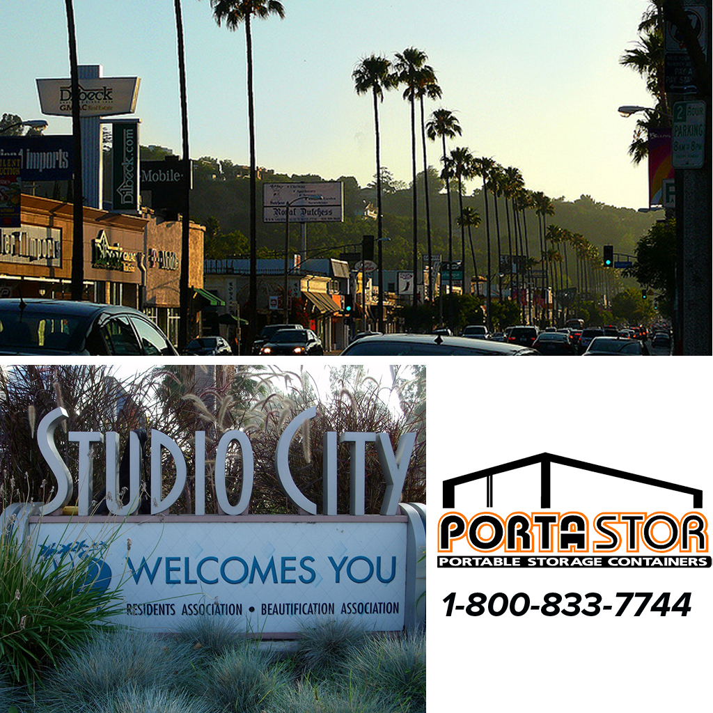 Rent portable storage containers in Studio City, CA
