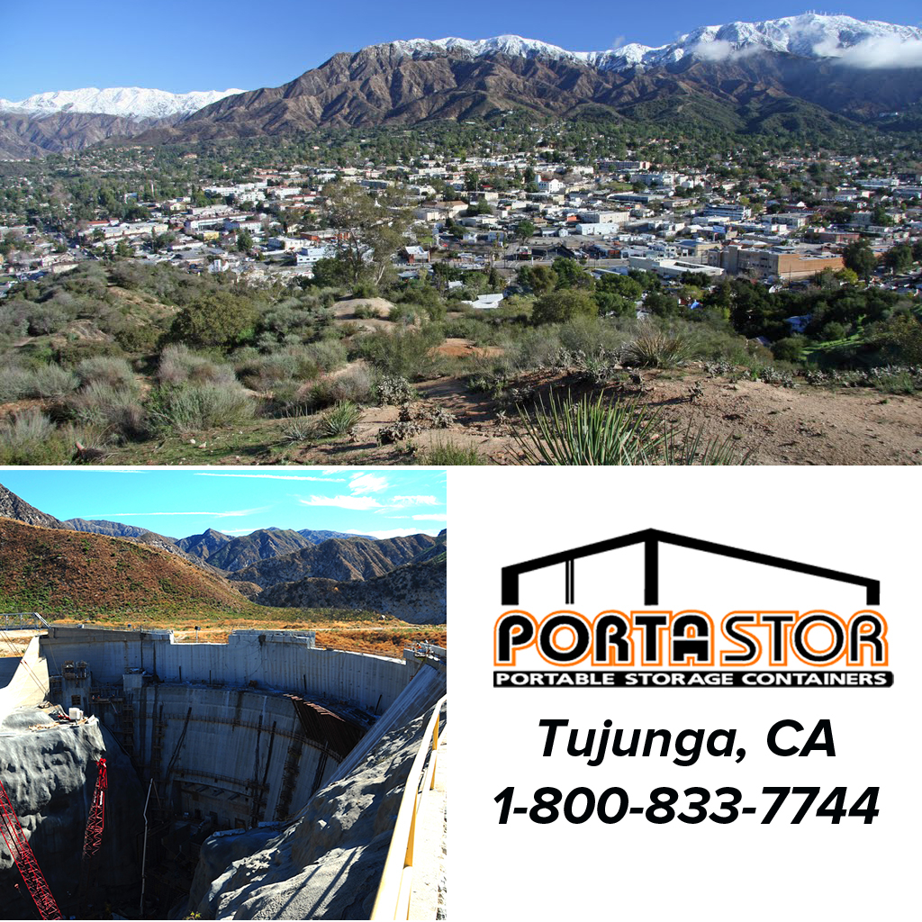 Rent portable storage containers in Tujunga, CA