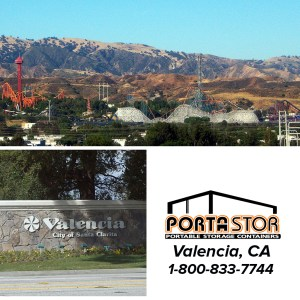 Rent Portable Storage Containers in Valencia, CA