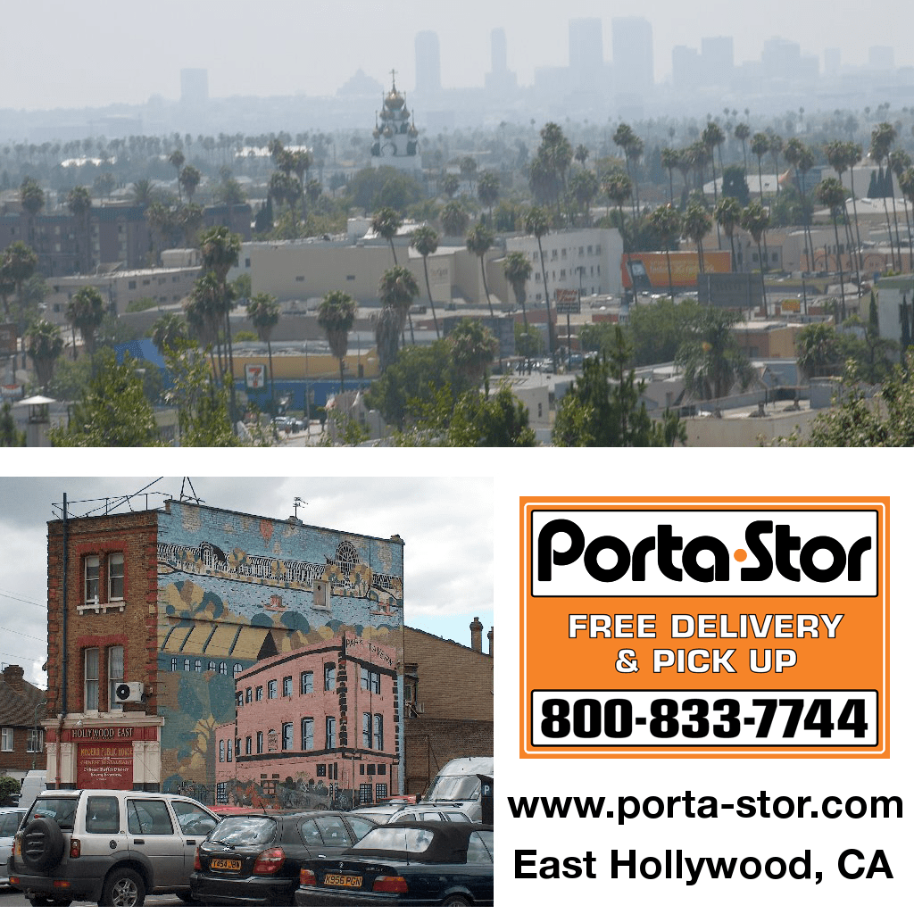 Porta-Stor Location Collage - East Hollywood