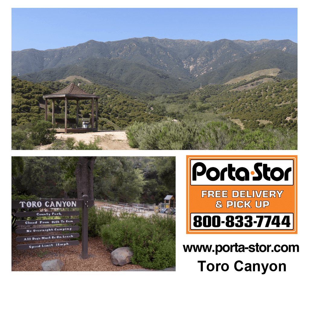 Rent Portable Storage Containers in Toro Canyon