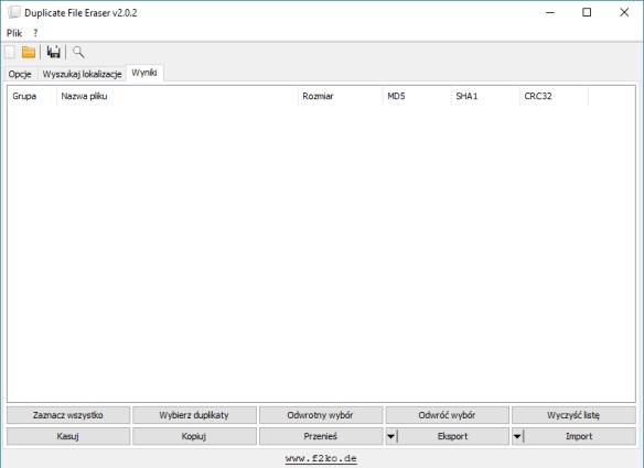 Duplicate File Eraser 2 0 2 0 portable - Portable info PL
