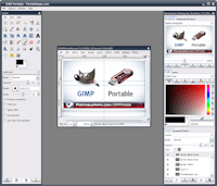 GIMP Portable Extras Screenshot