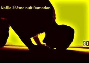 Ramadan nuit 26