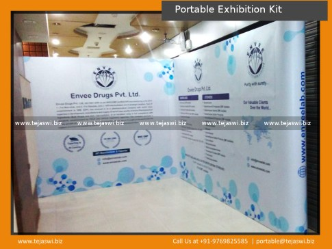 Portable Exhibition Kit Barcelona Spain CPHI Worldwide