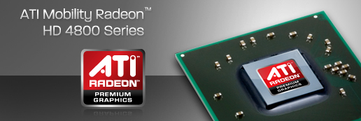 Bannière ATI Mobility Radeon série 4800