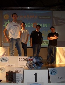 Podium Trackmania Nation