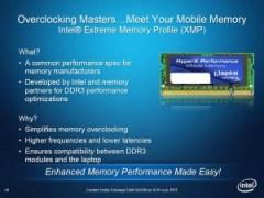 Intel Clarksfield - Modules XMP