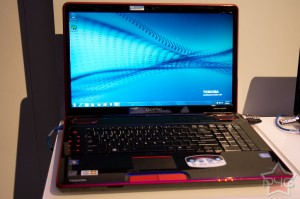 CES 2011 - Toshiba Qosmio X500