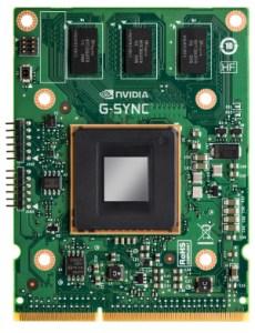 La G-sync sera intégrée directement dans les écrans.