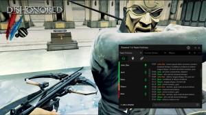 Razer Comm s'intègre dans le jeu.