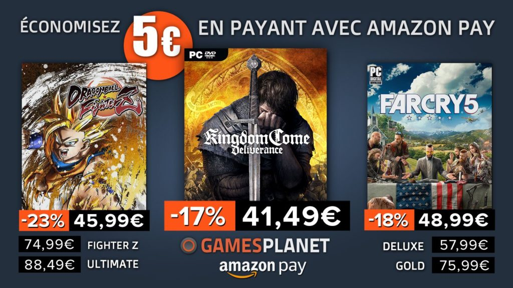 Bon plan Kingdome Come et Far Cry