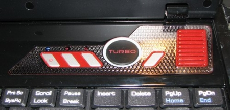 Bouton Turbo du GX600 Extrême Edition