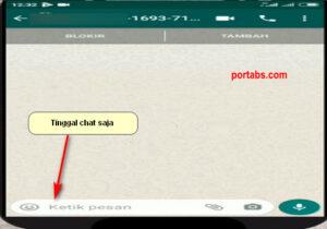 Cara Chat Tanpa Menyimpan Nomor Whatsapp Seseorang Terlebih Dahulu