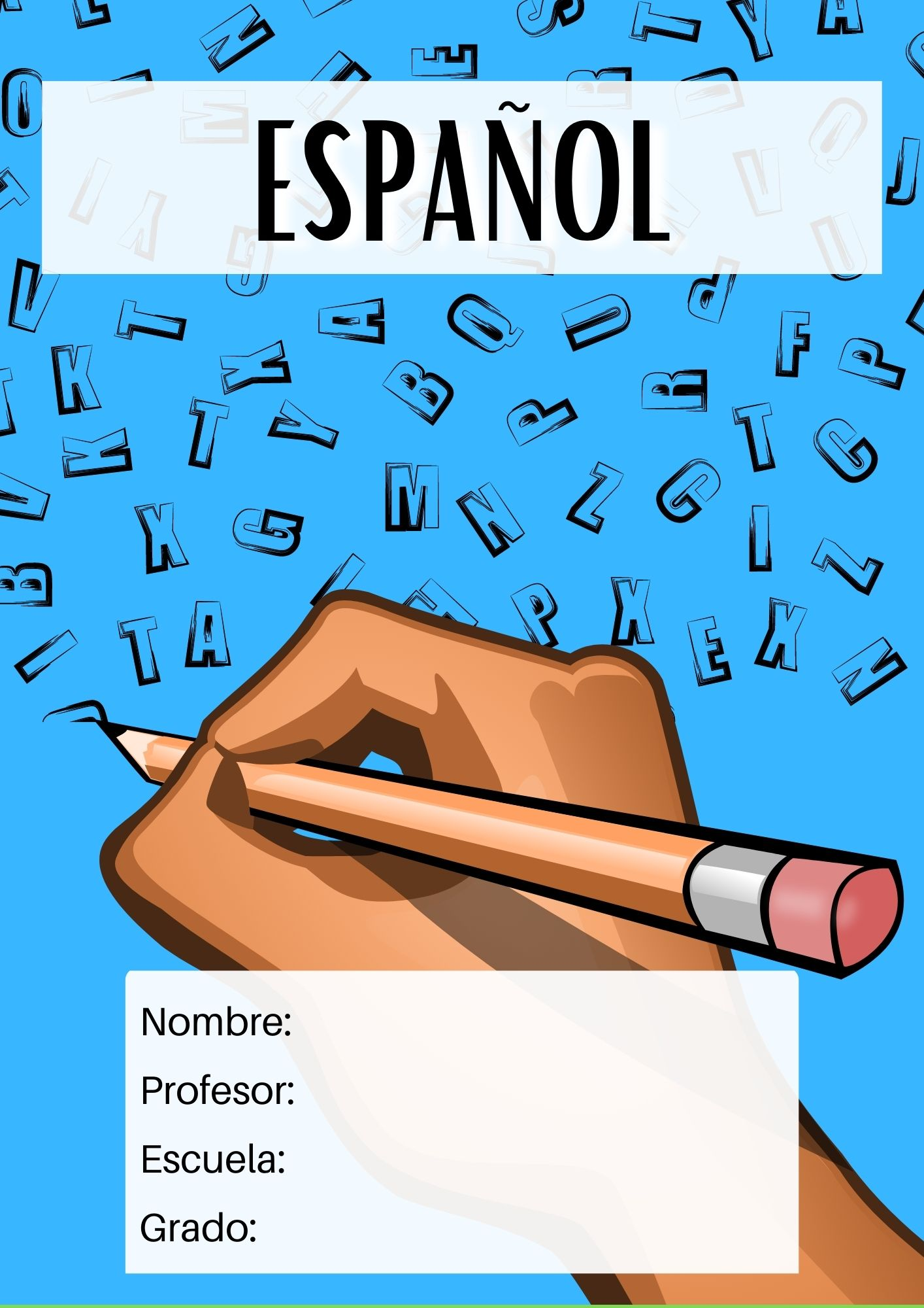 portada para español