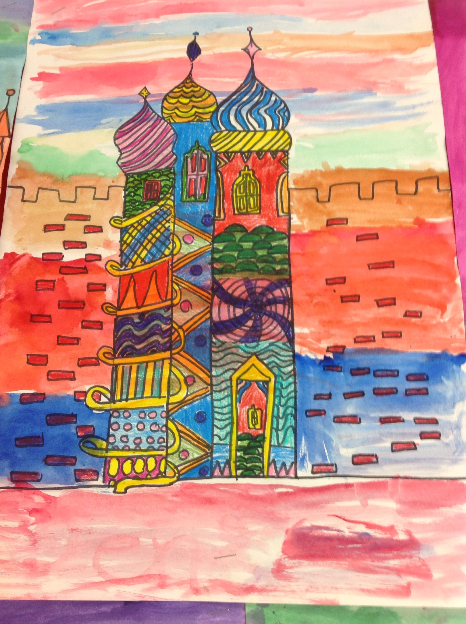 Russian Architecture Mrs Yang S Art Room
