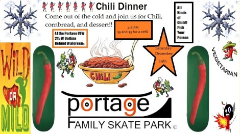 Dec 14 2013 flier vfw chili