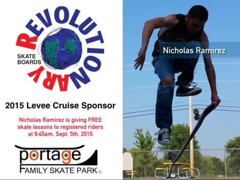 Revolutionary Skateboards $100 sponsor.