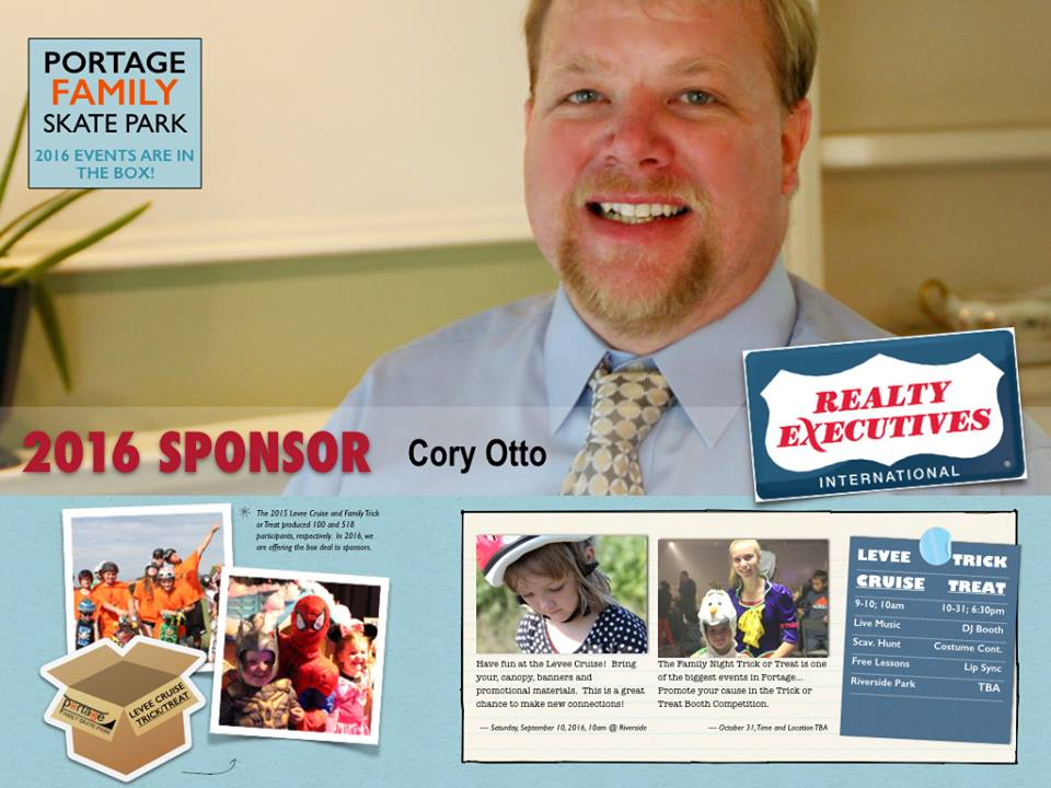 So much community service comes out of this guy right here... give him a call to list and buy your home! #PortageFamilySkatePark
