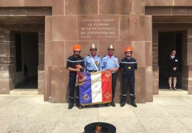 Cérémonie au mémorial du Mont Valérien, le 18 juin