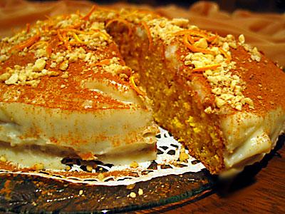 havuçlu ve fındıklı kek