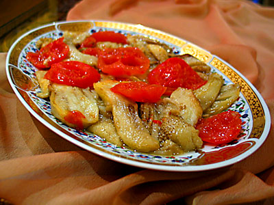 sade patlıcan
