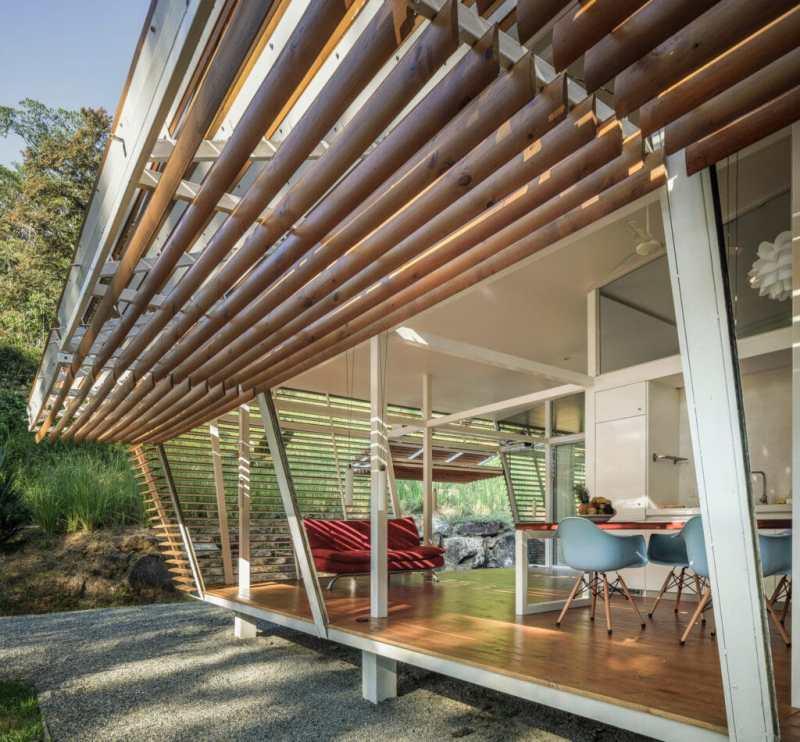 Estas hermosas casas prefabricadas tienen cero huella de carbono