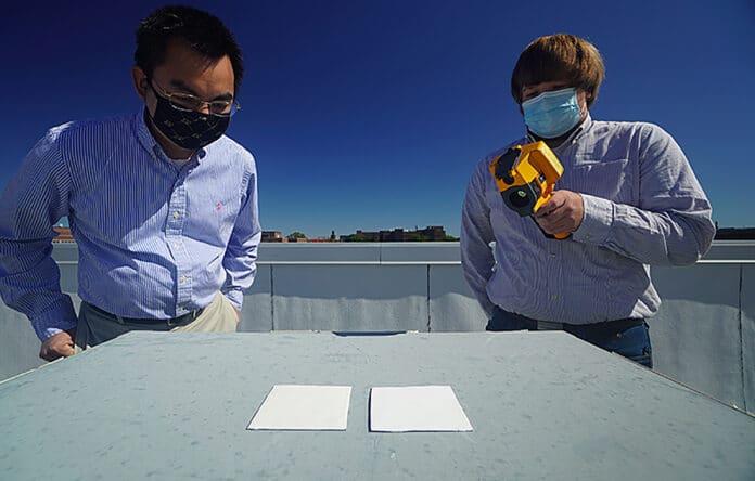 , Crean pintura que enfría las superficies y puede reemplazar el aire acondicionado