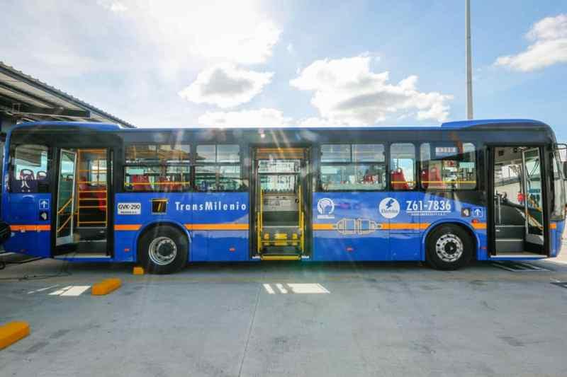 , Bogotá adquiere la mayor flota de autobuses eléctricos de América Latina