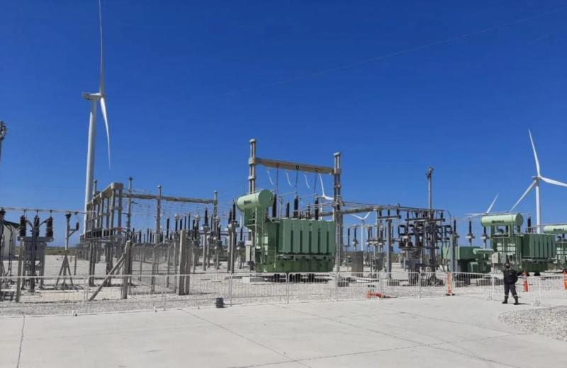 , Miramar: se inauguró oficialmente el Parque Eólico que brinda energía limpia a la región