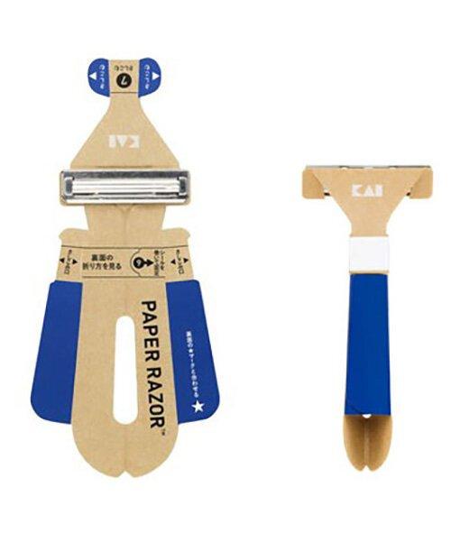 ¡La máquina de afeitar desechable de papel ya es una realidad!