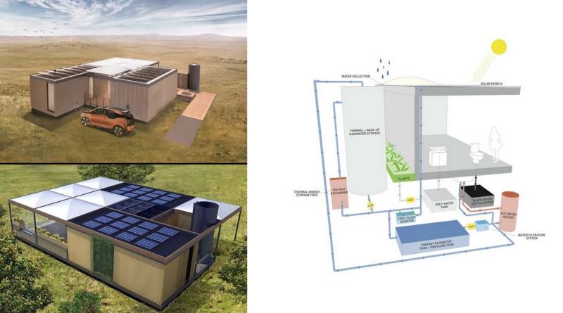 , La casa que genera más energía de la que consume, reutiliza el agua y produce alimentos orgánicos.