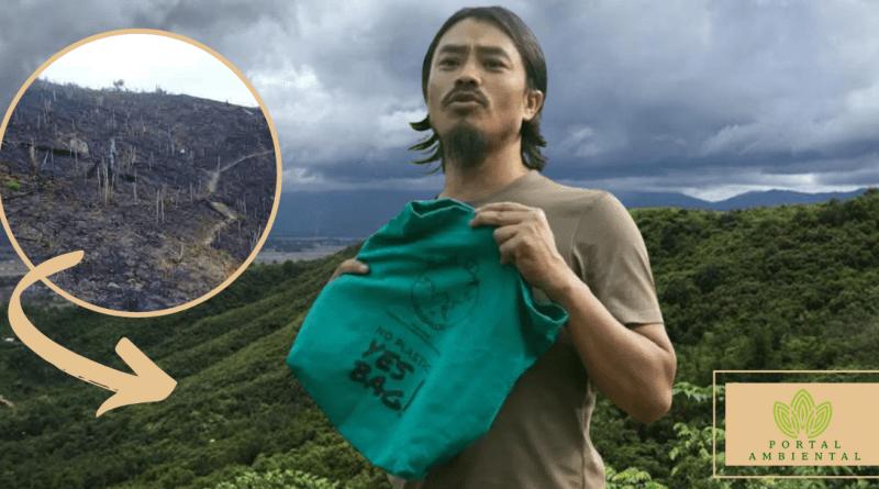 , El héroe que trabajó durante 18 años para reforestar el bosque que amaba de niño