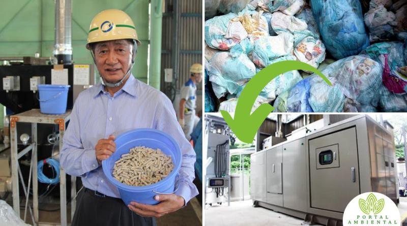 , Este hombre desarrolló una máquina que convierte pañales usados en Energía limpia