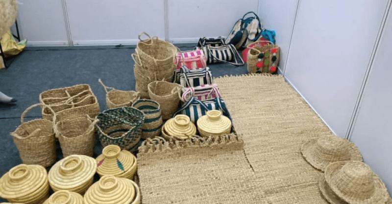 , Jóven transforma desperdicios de banano en artesanías 100% ecológicas