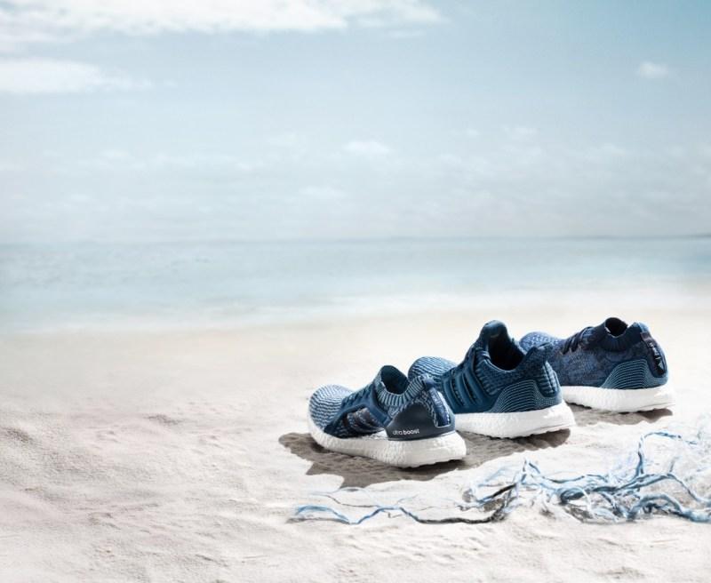 , Adidas lanza zapatillas hechas con plástico recuperado del océano